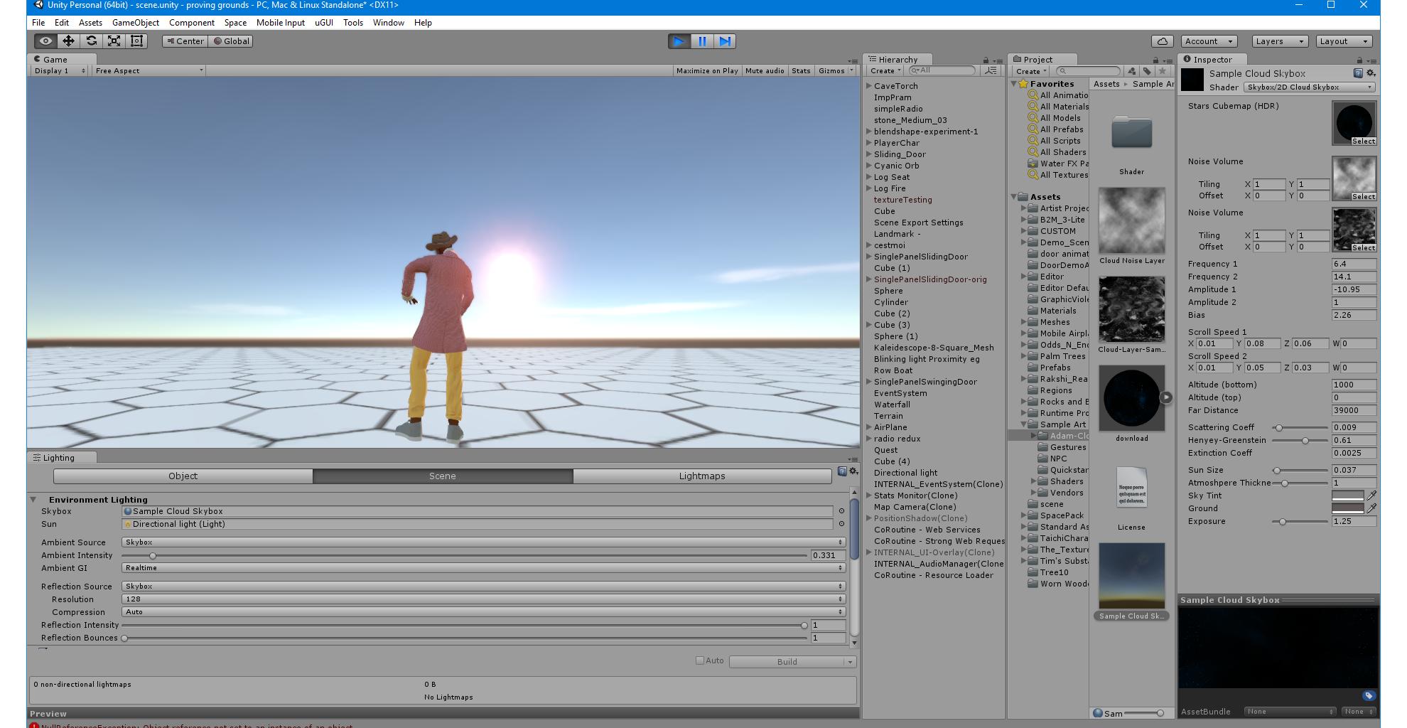 Custom skybox shader - wiki sine space