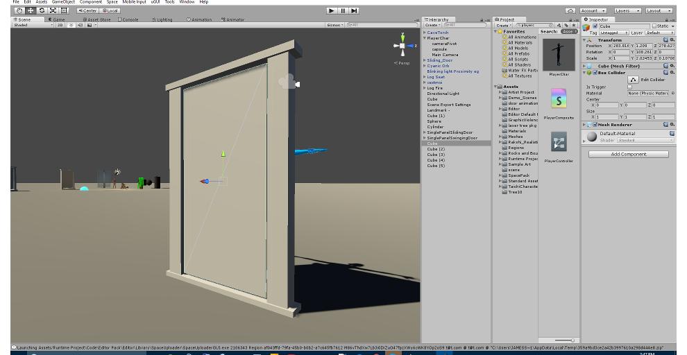 Making Animated Doors - wiki sine space